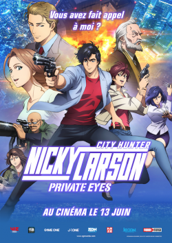 telecharger Nicky Larson Private Eyes FRENCH DVDRIP 2019