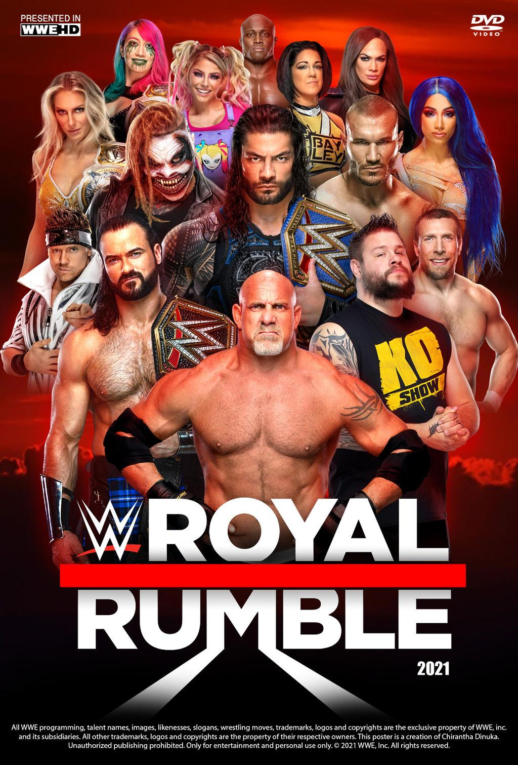 telecharger WWE Royal Rumble 2021 PPV HDTV x264-Star torrent9